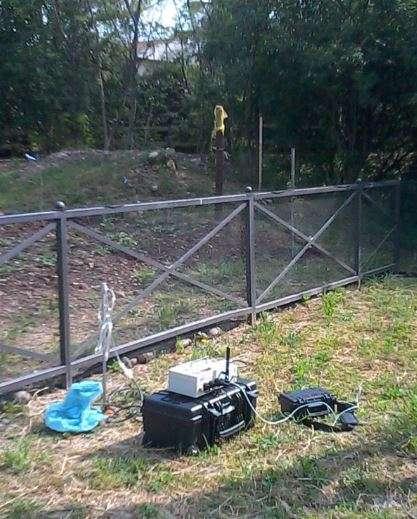Hattusas - Caratterizzazione Rischio Radon - San Paolo d'Argon - rilevazione attiva nel suolo