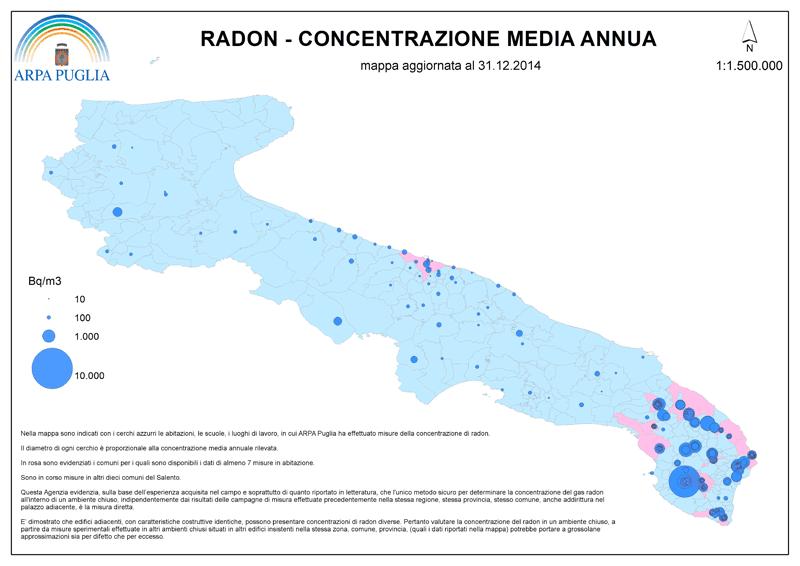 Rischio Radon in Puglia - Arpa Puglia